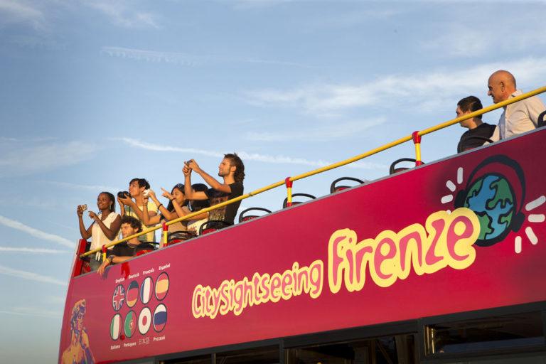 ônibus turístico em Florença: City Sightseeing Firenze