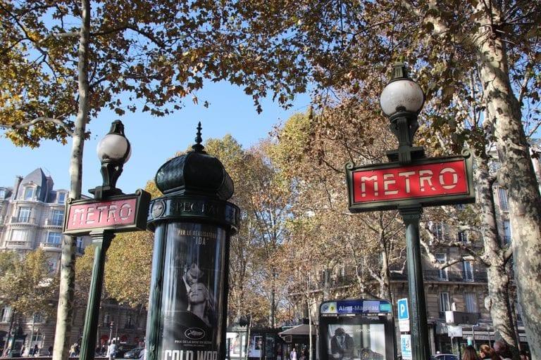 Transportes em Paris: metro de Paris