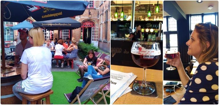 Onde comer e beber em Bruges: Bourgogne des Flandres