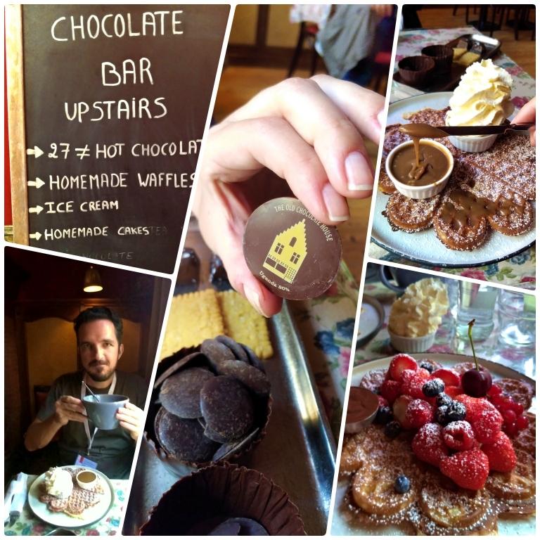 lojas de chocolate em Bruges Old Chocolate House