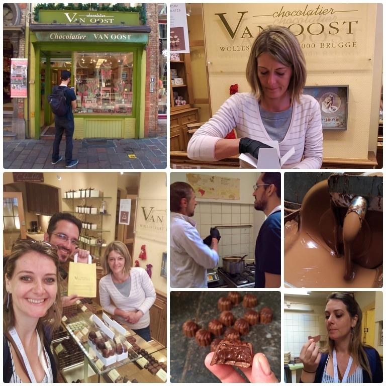 lojas de chocolate em Bruges Chocolatier Van Oost