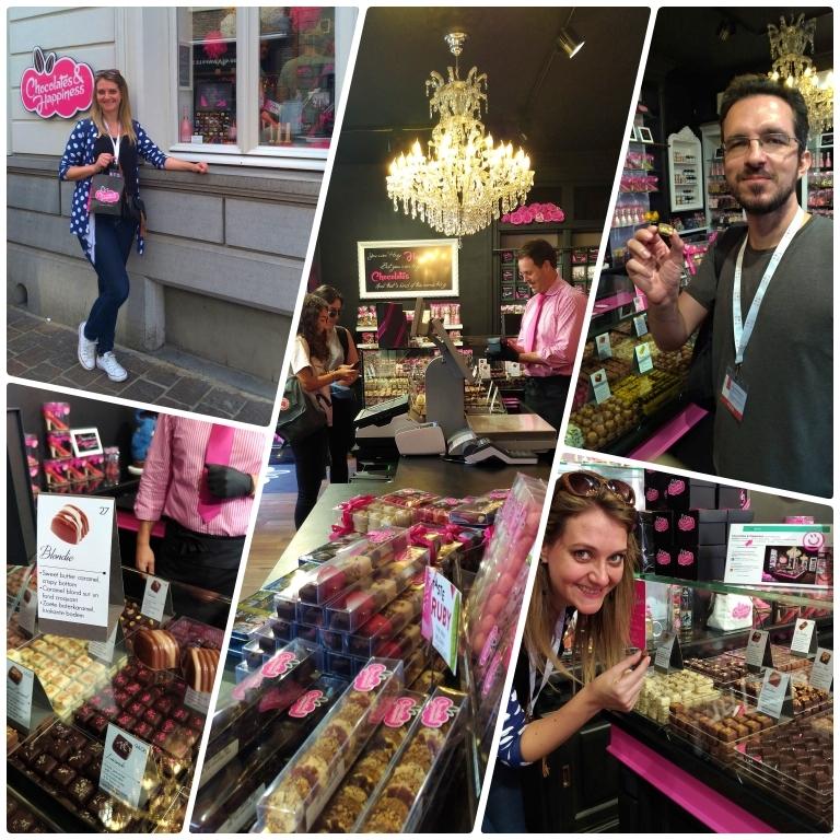 lojas de chocolate em Bruges Chocolates & Happiness