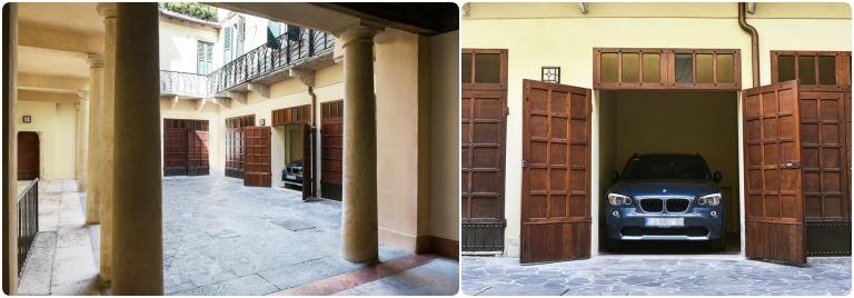 Fratta5 Luxury Apartment:  garagem