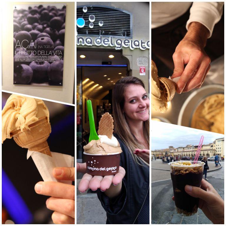 Onde comer gelato em Florença: Cantina del Gelato