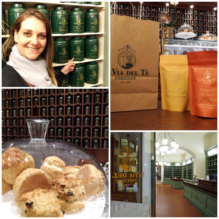 La Via del Tè: casa de chá em Florença