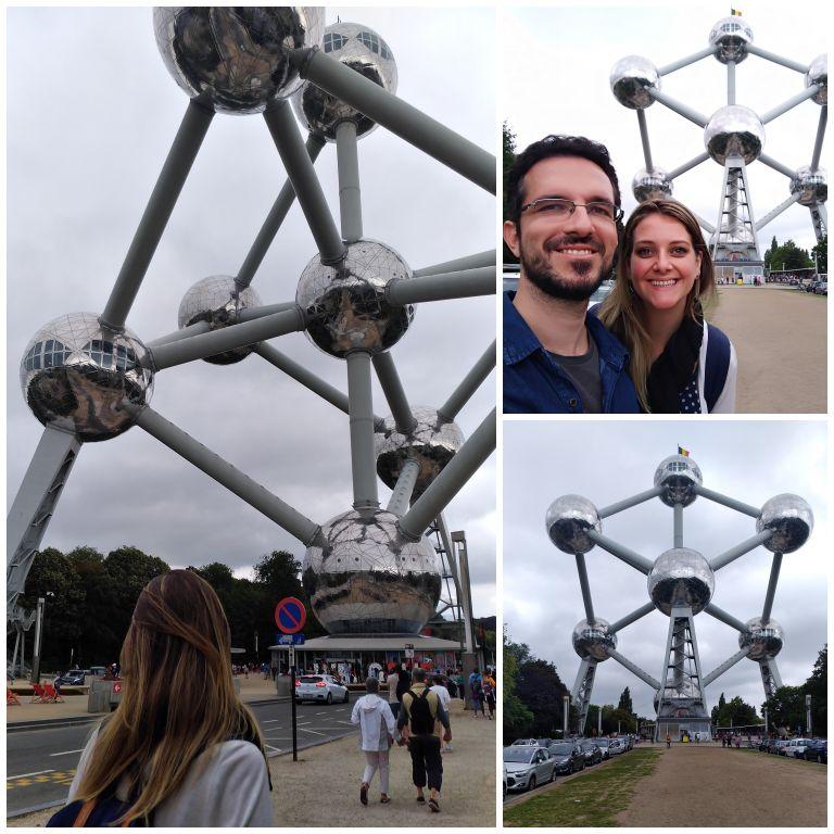 Conhecendo o Atomium por fora