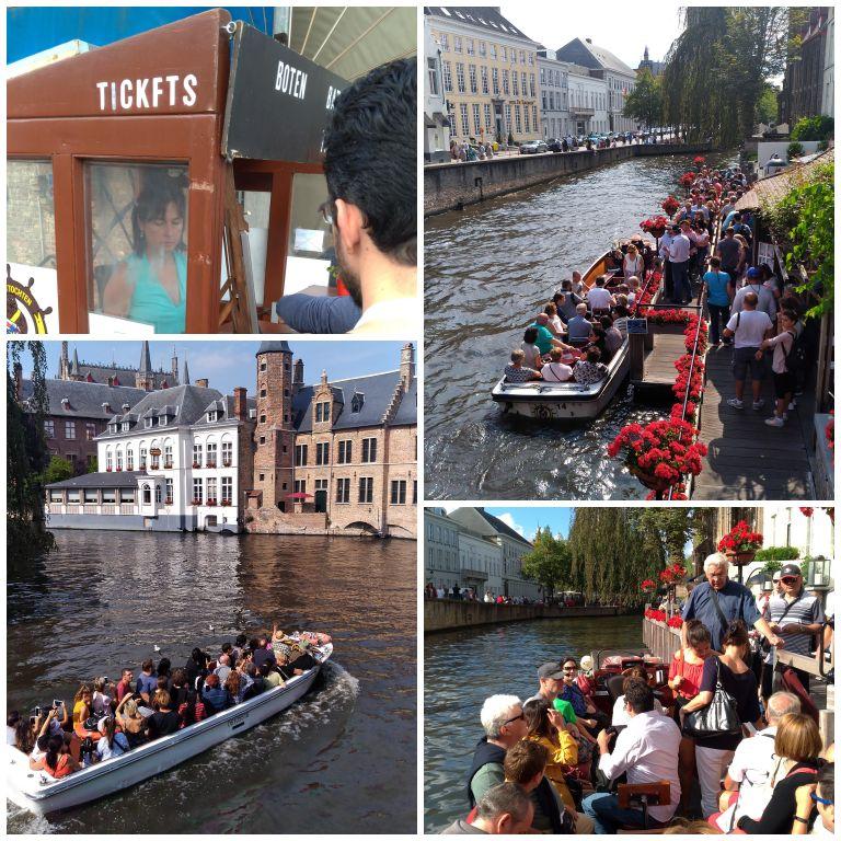 O que fazer em Bruges: Passeio de barco em Bruges
