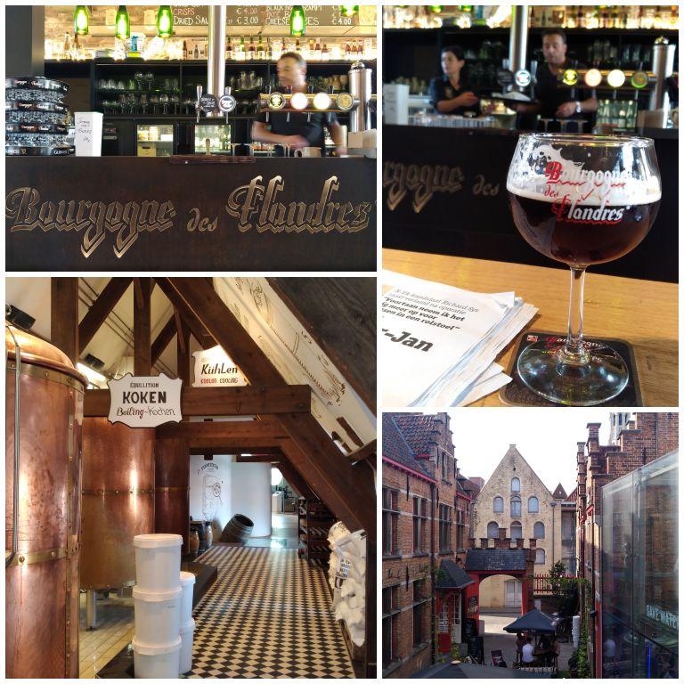 O que fazer em Bruges: Tour pela cervejaria Bourgogne des Flandres