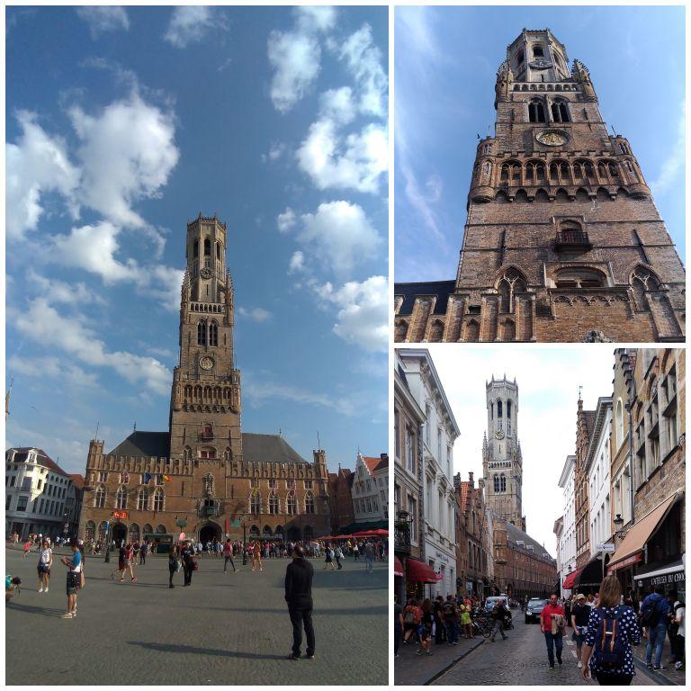 Campanário de Bruges
