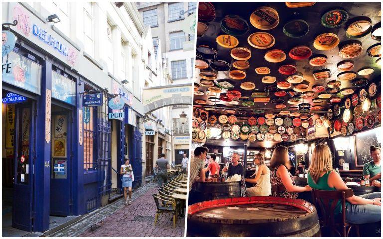 Delirium Cafe: icônico bar de cervejas de Bruxelas
