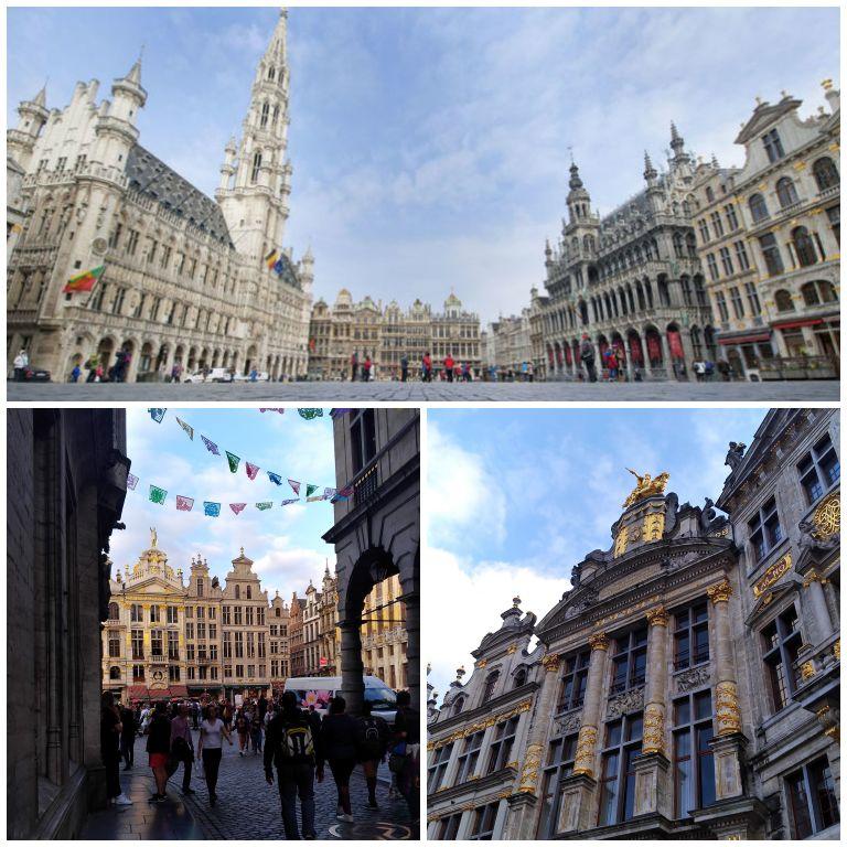 Grand Place de Bruxelas - praça mais importante da cidade