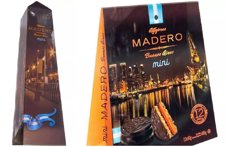 Alfajor Madero