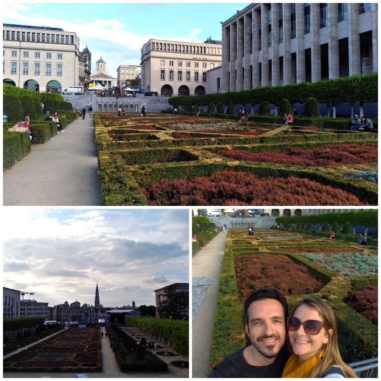 Mont des Arts: jardins e bela vista da cidade
