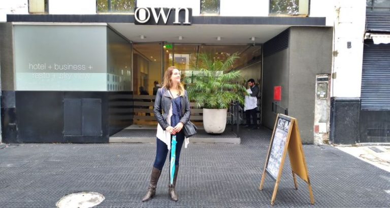 Fachada do Hotel Own Madero
