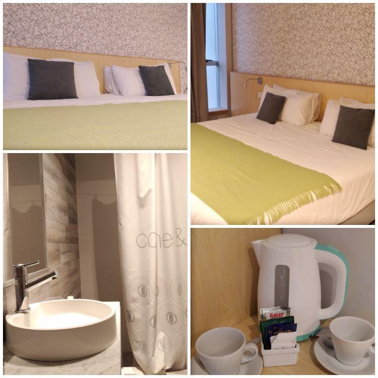 Nosso quarto no hotel Own Madero