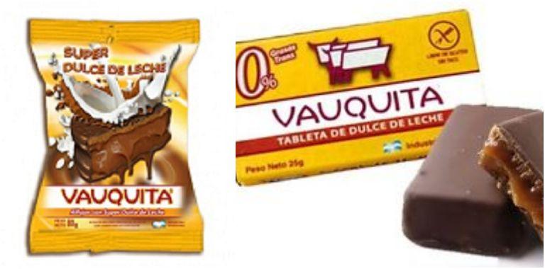 Alfajor Vauquita e o famoso doce de leite em tabletes