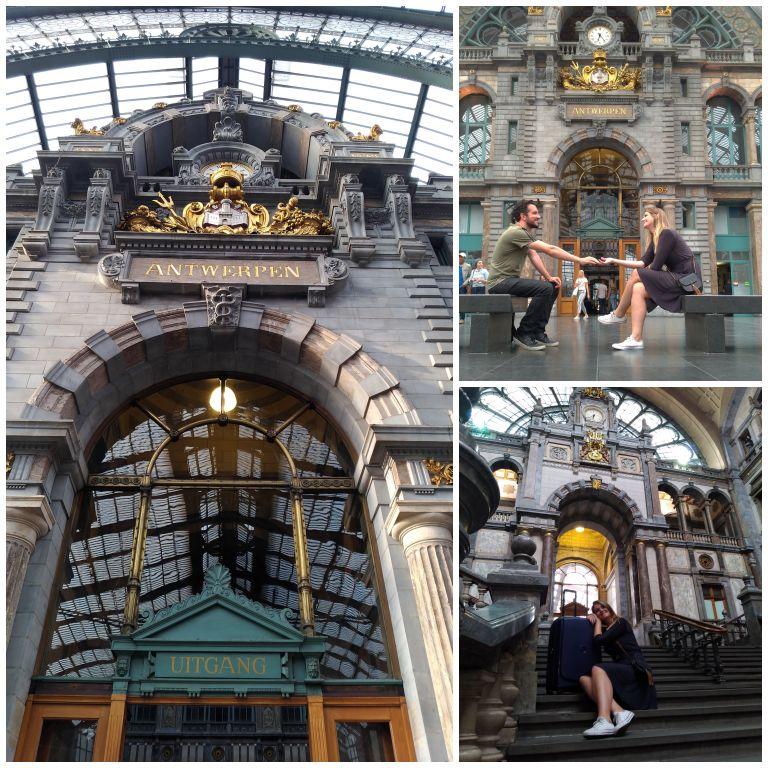 Antwerp-Centraal: a linda estação de trem da Antuérpia