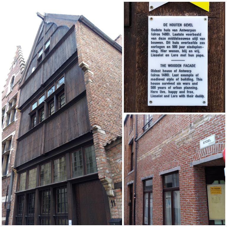 Oudste huis van Antwerpen: a casa mais antiga da Antuérpia