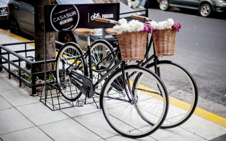 Bicicletas para o hóspede: CASASUR Bellini Hotel