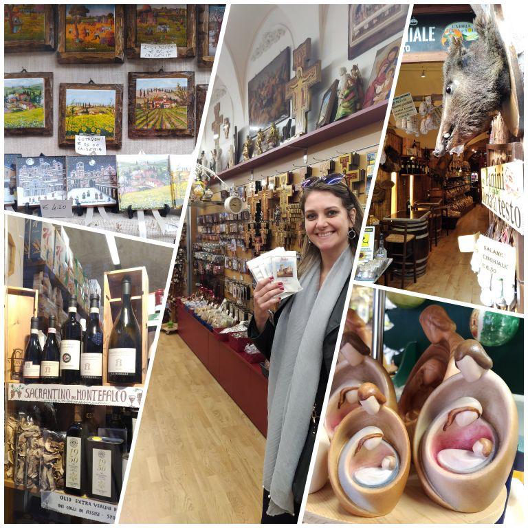 O que comprar em Assis: lojas de artigos religiosos, souvenirs e comidas típicas