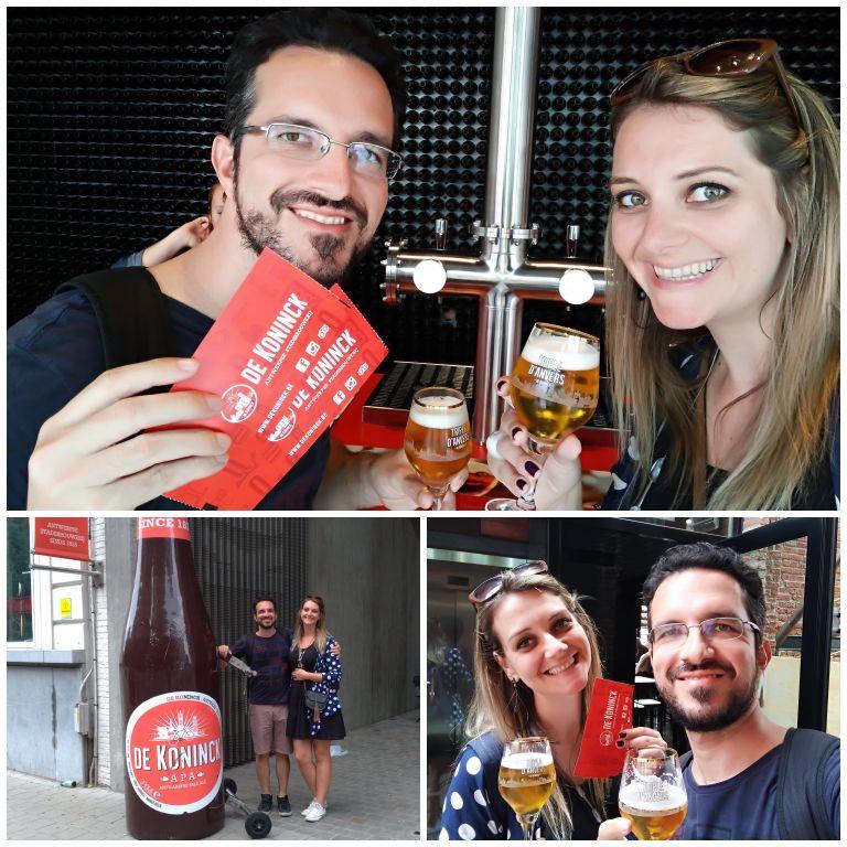 Visita a cervejaria De Koninck na Antuérpia
