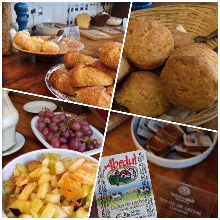 Café da manhã do Hotel Patios de San Telmo