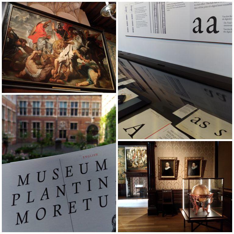 Um pouco do acervo do museu Plantin Moretus