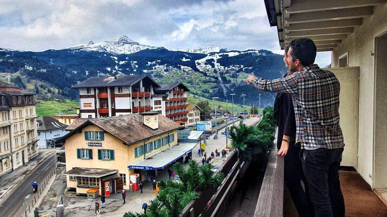 Onde ficar em Grindelwald: hotel Kreuz&Post