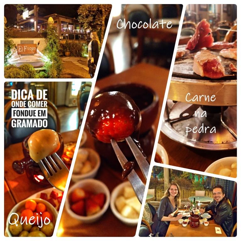 Festival de Fondue do El Fuego Restaurante em Gramado
