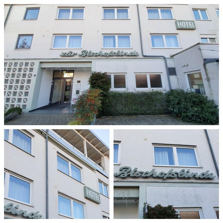 Fachada do hotel Bischofslinde Freiburg