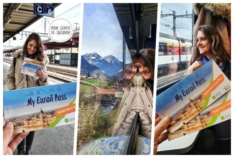 Viajando de trem com o Eurail Pass