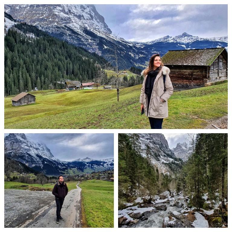 Paisagens de tirar o fôlego da vila alpina de Grindelwald, na Suíça