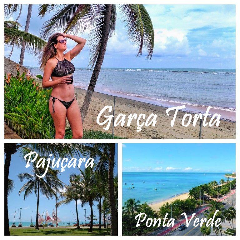 Garça Torta, Pajuçara e Ponta Verde: Algumas das praias de Maceió