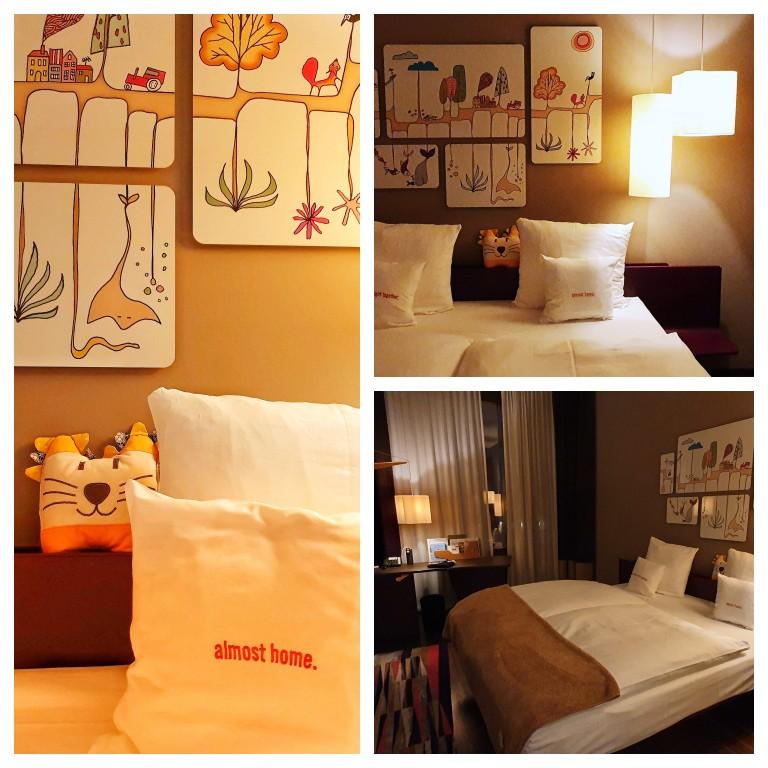 Nosso quarto no 25hours Hotel West Zürich