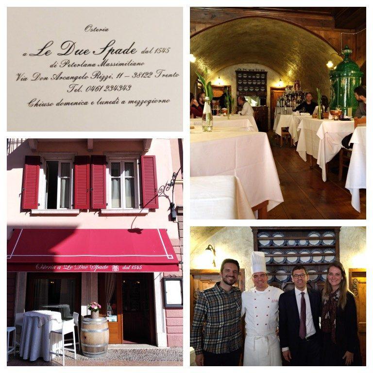 Due Spade, restaurante mais antigo de Trento