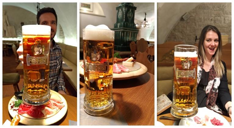 Cervejas na Forsterbräu