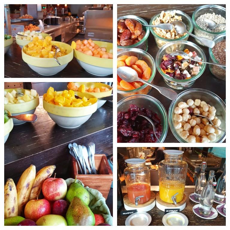 Café da manhã no Hotel 25hours Langstrasse, em Zurique