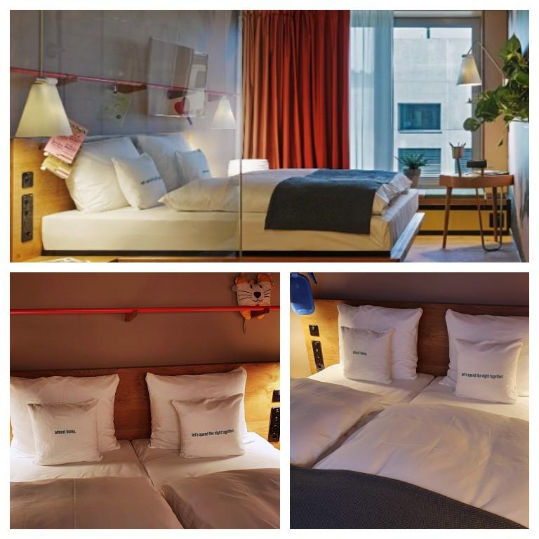 Nosso quarto no hotel 25hours Langstrasse