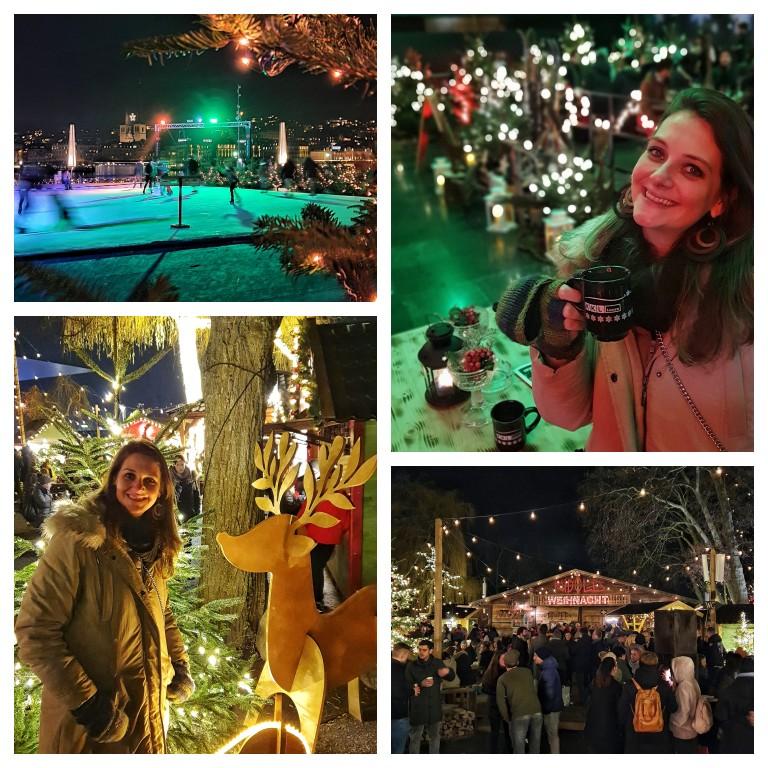Rudolf Weihnachtsmarkt: mercado de Natal com foco em comidas e bebidas típicas de diferentes partes do mundo