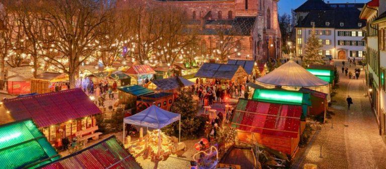 Mercados de Natal na Suíça
