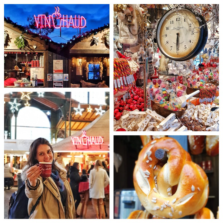 Do vinho quente ou 'vin chaud' até as comidas típicas de Natal no mercado de Montreux