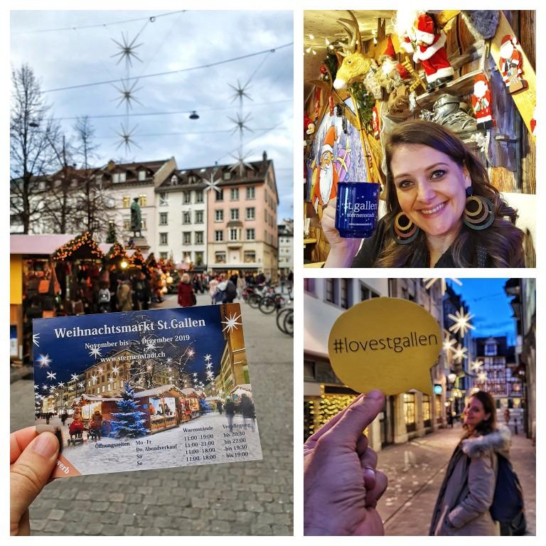 Sternerstadt: as estrelas no Mercado de Natal de St. Gallen