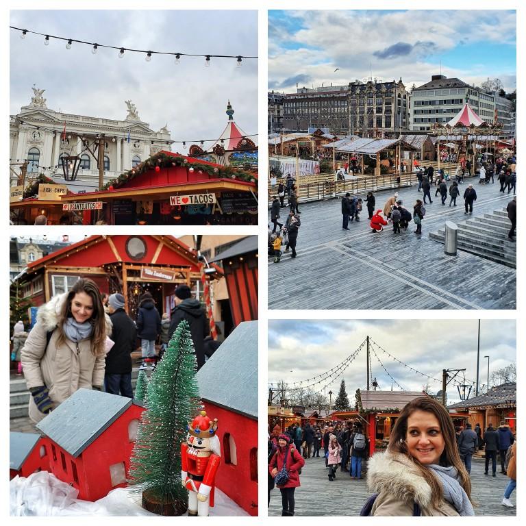 Wienachtsdorf: Um dos maiores mercados de Natal, em frente a Ópera de Zurique