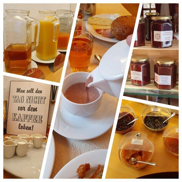 Café da manhã no Kreuzerhof Hotel Garni