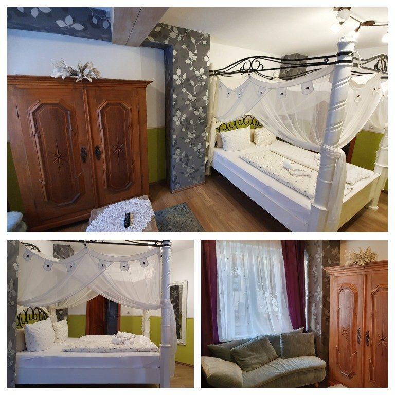 Detalhes do nosso quarto no reuzerhof Hotel Garni