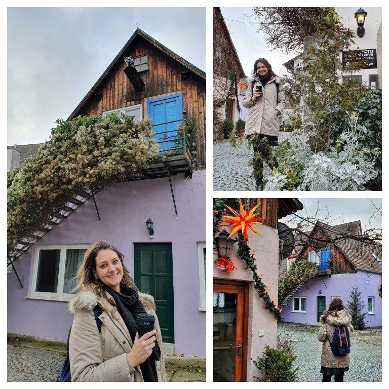 Kreuzerhof Hotel Garni: pequeno hotel familiar oferece quartos em chalés como esses