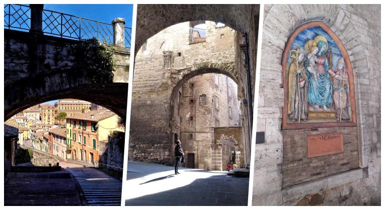 Postierla della Conca, antigo portão etrusco onde termina a caminhada pelo Aqueduto