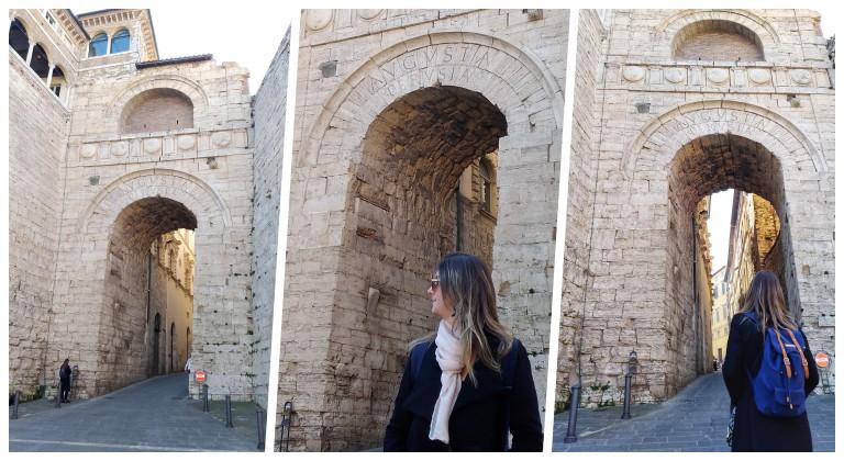 Arco Etrusco em Perugia