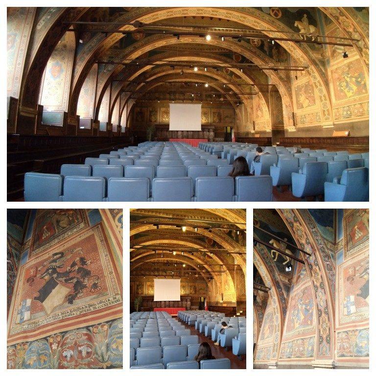 Sala dei Notari, no interior do Palazzo dei Priori