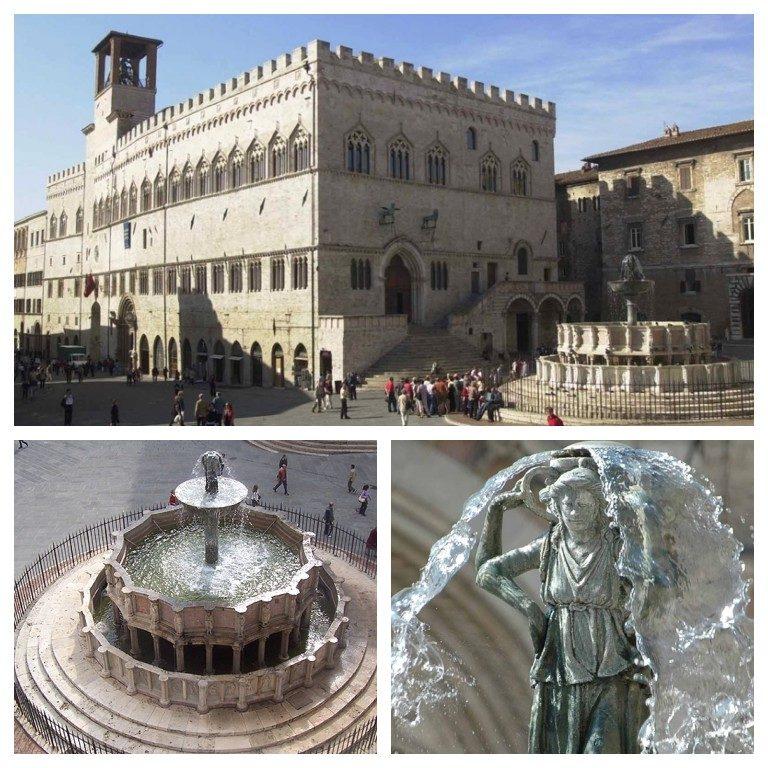Palazzo de Priori e Fontana Maggiore
